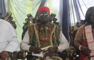 Comrade Balami installed as Chief of Okwe Kingdom, says those agitating for break up of Nigeria are joking